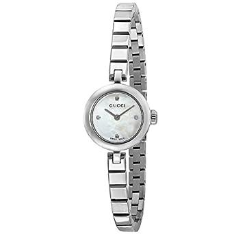 1e559b441961d9 グッチ GUCCI ディアマンティッシマ クオーツ 腕時計 YA141503 ホワイトシェル[レディース] [並行輸入
