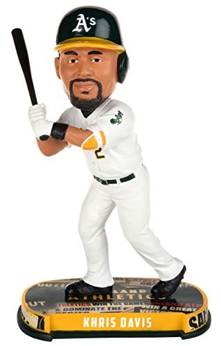 Oakland Athletics Davis K. #2 Headline Bobble by FOCO