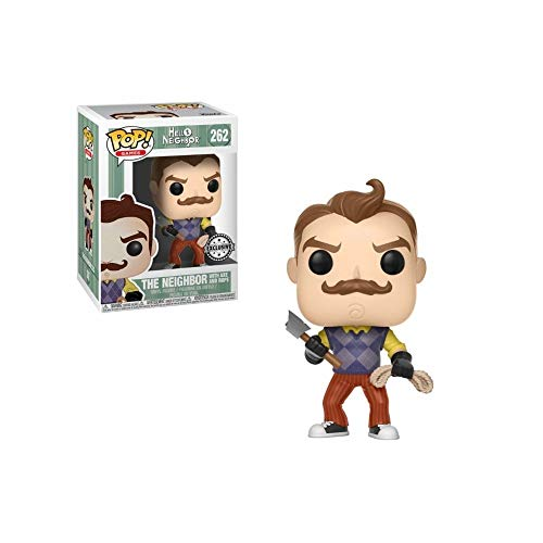 Hello Neighbor POP! Games Vinyl Figure Neighbor with Axe & Rope 9 cm Funko M