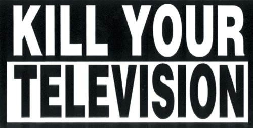 Old glory kill your television decal amazon co uk car motorbike