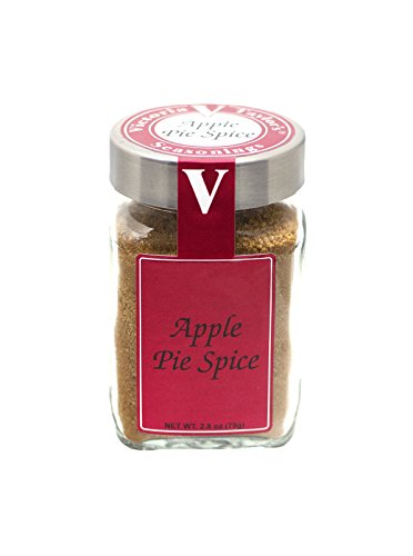 Old Fashioned Apple Pie - Apple Pie Spice - Victoria Taylor's 2.8 Oz Jar - Authentic Blend of Old Fashioned Seasoning perfect for any Pastry or Baked good, balanced Herbs and Spices add a delicious Rich Flavor to your favorite Dishes, All Natural Organic taste - May even be better than the pies grandma used to make!