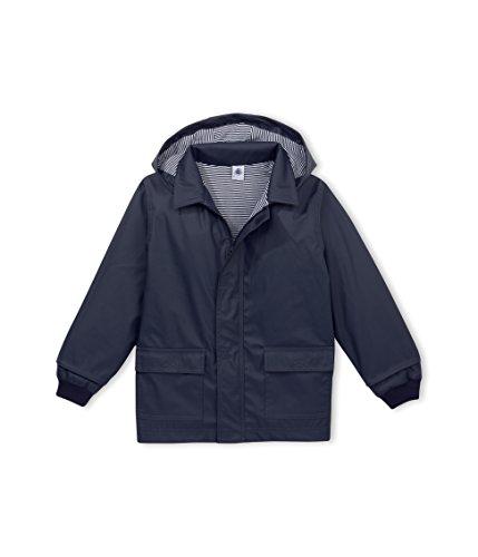 Petit Bateau Boy's Rain Coat Navy (8A)