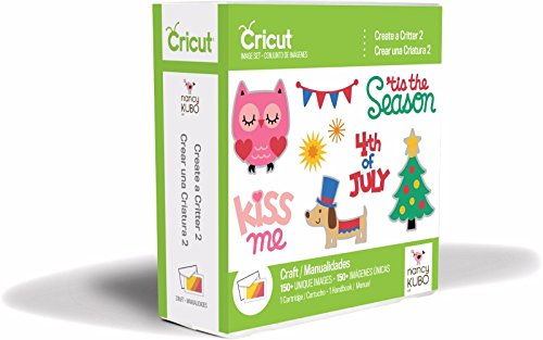 Cricut Create A Critter 2 Cartridge - Animal Cartridge Cricut