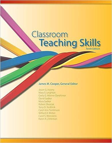 pdf file of classroom teaching skills of 9th edition
