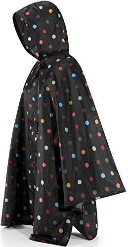 Reisenthel WOMENS FOLD - UP RAINCOAT (PONCHO) ONE SIZE FITS ALL, NEW Multi Colour Dots