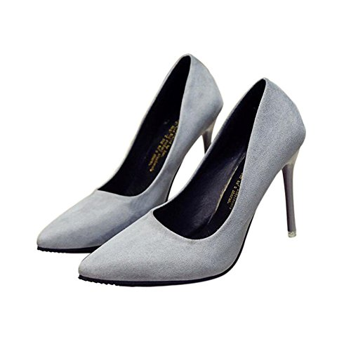 Meijunter 10CM Gary Mouth Fashion Shallow New Shoes Toe High Heels Pointed Women Sexy qU1qRWnrF