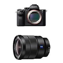 Sony ILCE7SM2/B Full-Frame Mirrorless Interchangeable Lens Camera (Black) with Sony SEL1635Z E-Mount Lens (Black) bundle