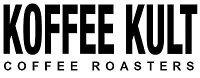 Koffee Kult Dark Roast Coffee Beans   Whole Beans Coffee Sample 2 oz
