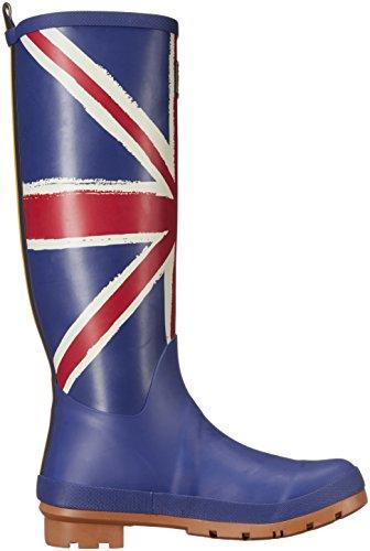 Women's T Joules Rain Jack Shoe Blue Td55qr