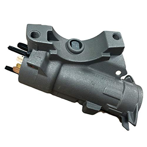 DASPARTS 4B0905851B 4B0905851C Ignition Lock Housing with Ignition Switch  Without Ignition Cylinder for Audi A4, A4 Quattro, A6, A6 Quattro, A8, A8