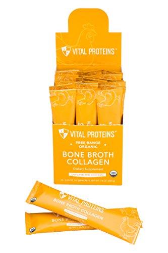 VITAL PROTEINS Organic Chicken Bone Broth Box, 20 CT