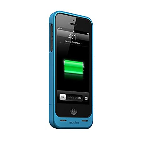 mophie juice pack Helium for iPhone 5/5s/5se (1,500mAh) - Blue (A Charging Iphone 5 Case)