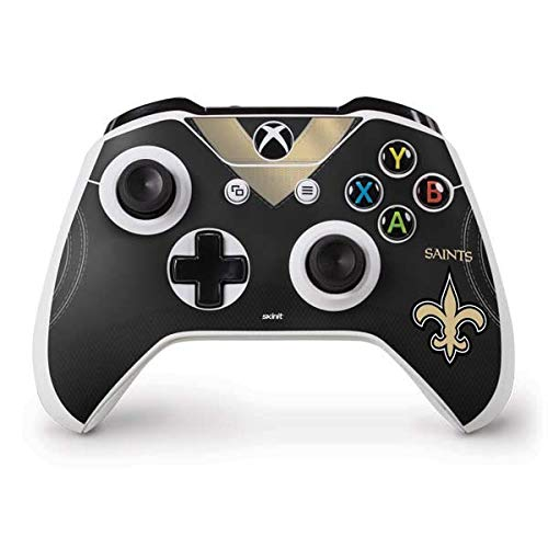 Orleans New Controller Saints (Skinit New Orleans Saints Team Jersey Xbox One S Controller Skin - Officially Licensed NFL Gaming Decal - Ultra Thin, Lightweight Vinyl Decal Protection)
