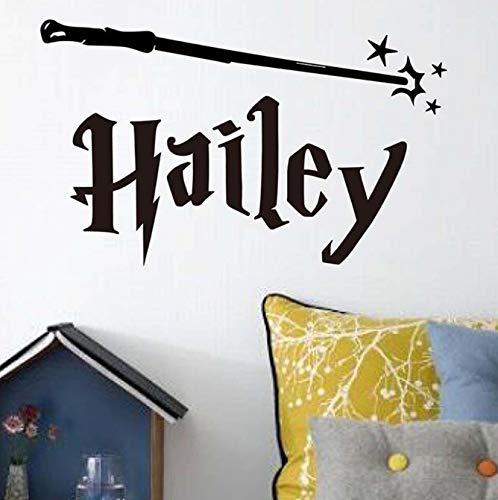 xingzhi Harry Potter Style Nombre Personalizado Vinilo Tatuajes De ...