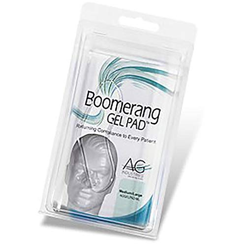RESPURA AGGELPAD-ML Boomerang Gel Pad, M/L (Gel For Pad Mask Cpap)