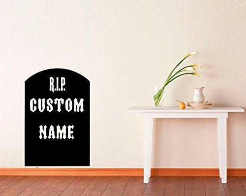 FSDS Vinyl Wall Decal - Personalized Headstone Custom