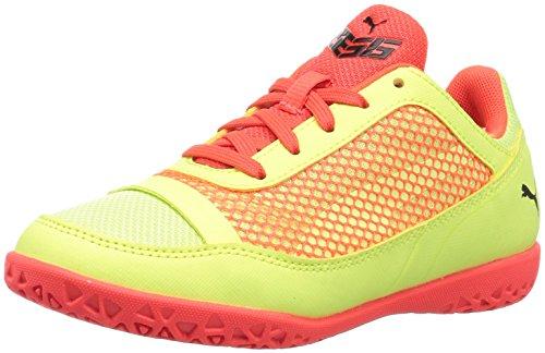 PUMA Unisex 365 NF CT Soccer Shoe, Fizzy Yellow-red Blast Black, 6 M US Big Kid (Best Street Soccer Shoes)