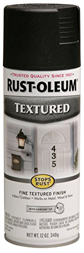 020066722081 - Rust-Oleum 7220830 Textured Spray, Black, 12-Ounce carousel main 0