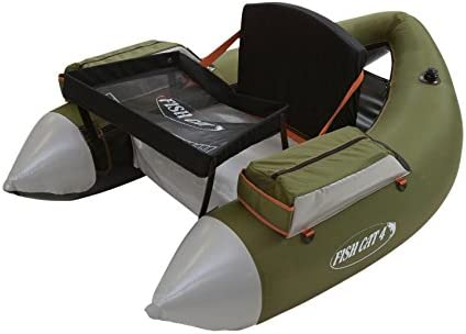 Outcast Fish Cat 4 LCS Float Tube – Olive with Free 20 Gift Card
