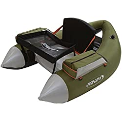 Outcast Fish Cat 4 LCS Float Tube - Olive with Free $20 Gift Card