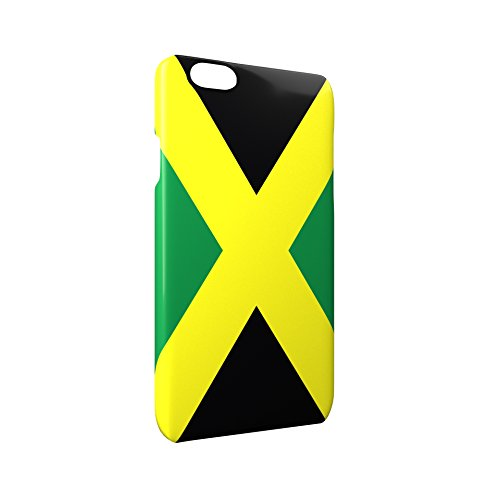 Flag of Jamaica Glossy Hard Snap-On Protective iPhone 6 / 6S Case Cover