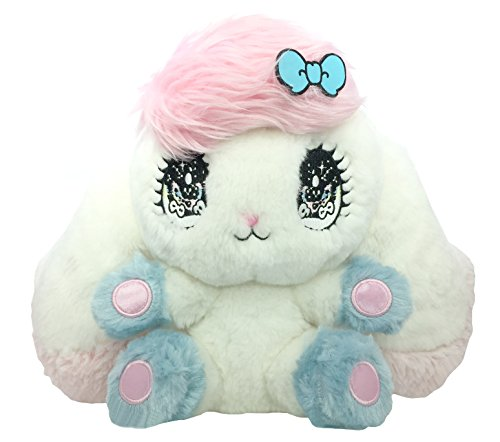 Peropero Sparkles Plush Stuffed Animal - Cute, Collectible and Cuddly Toy Character - Ultra-Soft Polyester Fabric - Authentic Japanese Kawaii Design - Premium Quality (Cune Large)