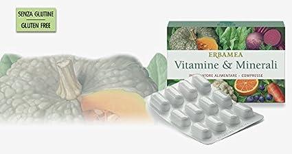 ERBAMEA - Vitaminas & minerales 24 CPR vitaminas, Minerales y antioxidantes: más energía per