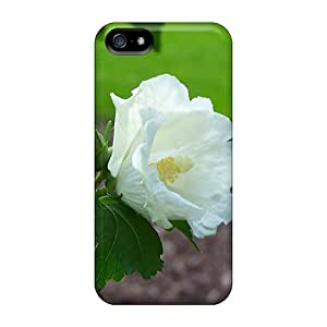 Premium Iphone 5/5s Case - Protective Skin - High Quality For White Orchid Portrait