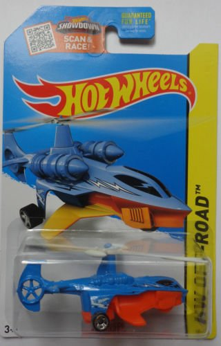 Hot Wheels, 2015 HW Off-Road, Sky Knife Helicopter  #94/250
