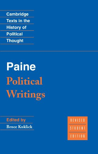 Paine: Political Writings (Cambridge Texts in the History of Political Thought)