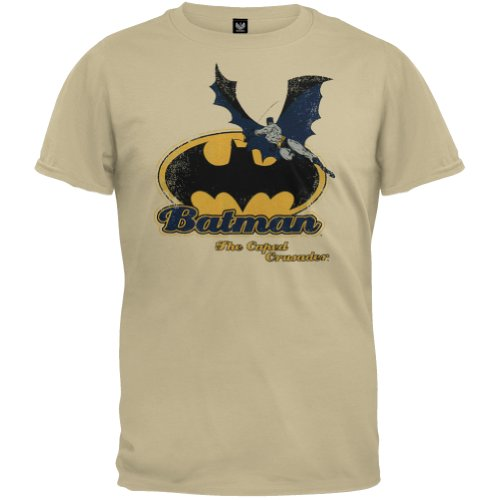 Batman+Retro+Shirts Products : Batman - Caped Crusader Retro T-Shirt