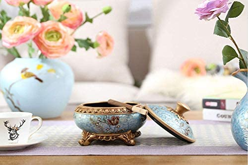 葉巻灰皿, への歓迎自宅、オフィスでの使用のためのカバー装飾品、ホームスタディパーソナリティクリエイティブホームリビングルーム実用的なトレンドの最高の贈り物に最適でヨーロッパのレトロジュエリー、