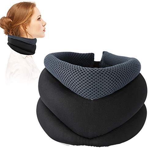 TMISHION Hals Traktion, Hals Traktionsgerät Sie die Ausrichtung der Wirbelsäule Hals für Nackenkissen, um Rücken Schulter Muskelschmerzen zu lindern (01# Tipo normal)