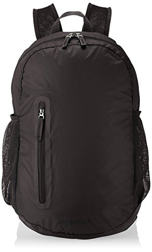 AmazonBasics Ultralight Packable Day Pack – Black, 35L