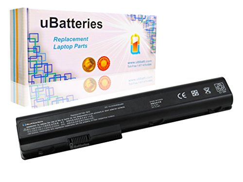 UBatteries Compatible 8 Cell 63Whr Battery Replacement For HP Pavilion dv7 dv7 dv7t DV7-1020US DV7-1130US DV7-1134US DV7-1137US DV7-1150US DV7-1170US DV7-1240US DV7-1260US DV7-1262US DV7-1270US Series