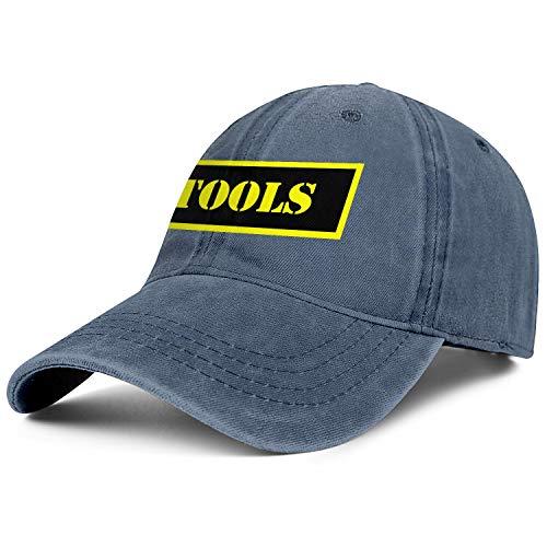 - Tools Ammo Logo Men's Women's Cowboy Cap Classic Fashion Baseball Jeans Hat Funky Fish Cap Fishing Cap