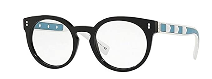 Valentino VA 3024 BLACK WHITE AZURE women Eyewear Frames: Amazon.co ...