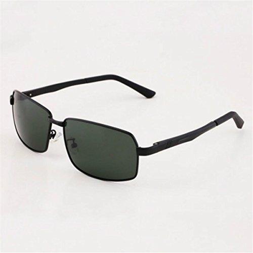 Sol polarizadas Gafas Negro Marco KOMNY Cine Gafas Sol Conducir Frame Green de Verde Black Gafas Film de Hombre Licencia tdggqwxz7