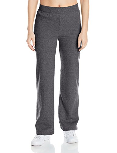 Hanes Women's Middle Rise Sweatpant, Slate Heather, - Outlet Athletic