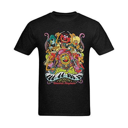 Nehasigo Men's Electric Mayhem Album Design Tshirt