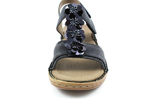 ara 47214-02 - Sandalias de vestir para mujer Azul