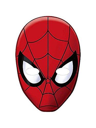Spider-Man Hero Dream Party Paper Masks (8ct)