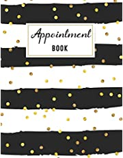 Appointment Book: Undated 52 Weeks Appointment Book for Salons, Spas, Hair Stylist, cosmetology and esthetician 15 minute increments and hourly schedule