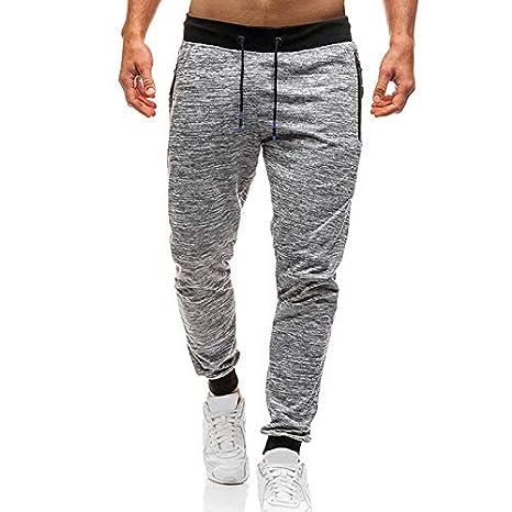 JklausTap - Pantalones de chándal Informales para Hombre ...
