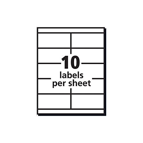 package address label template - avery address labels for copiers 2 x 4 1 4 box of