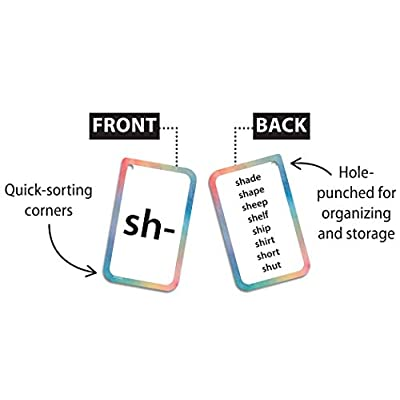 Teacher Created Resources Initial Consonants, Blends & Digraphs Flash Cards: Office Products
