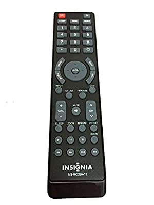 NEW remote NS-RC02A-12 remote For INSIGNIA LED and LCD TV NS-32L120A13 NS-40L240A13 NS-32E320A13 NS-19E320A13 NS-39L240A13 NS-42E440A13 NS-24E340A13 NS-46L240A13