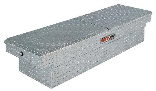 JOBOX PAC1596000 Aluminum Mid Lid Aluminum Fullsize Crossover Truck Box
