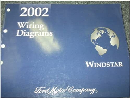 2002 ford windstar mini van wiring electrical diagrams service shop manual  ewd: ford: amazon com: books