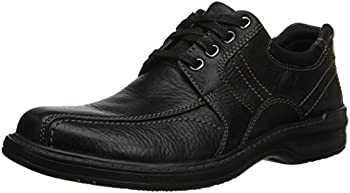 Sherwin Limit Black Tumbled Leather Shoes